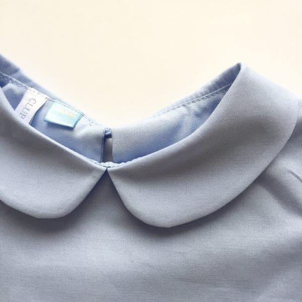 Blouse cloud detail collar