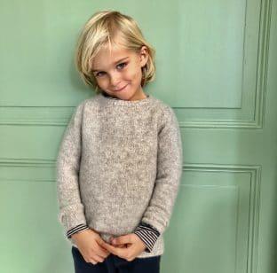 wool sweater beige