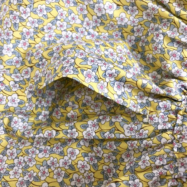 Bahia detail yellow skirt