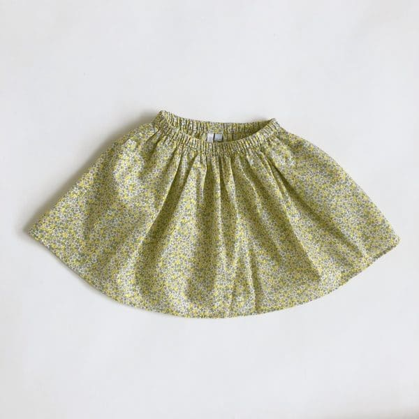 Bahia skirt yellow skirt
