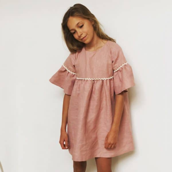 Elba dress pink