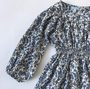 Luna dress detail