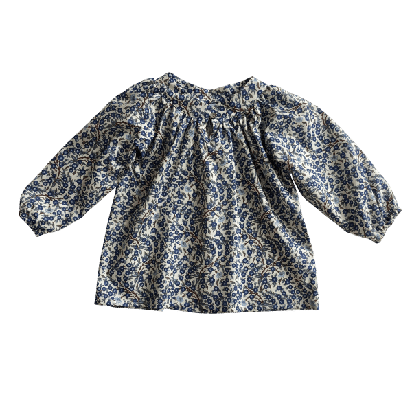 Luna blouse blue